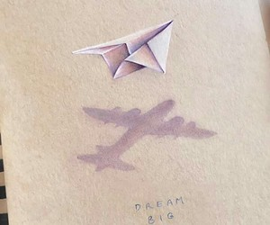 paper art, soar, and travel image