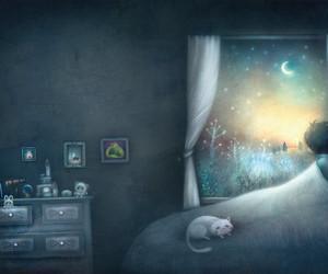 lune, magic, and magical image