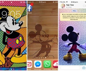 color, disney, and iphone image