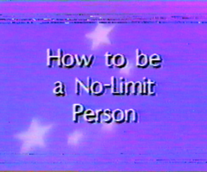 how to, text, and vhs image