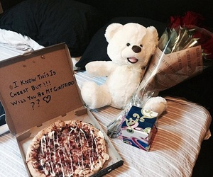 bear, gifts, and love image