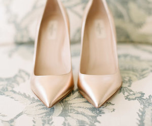 beautiful, shoes, and wedding image
