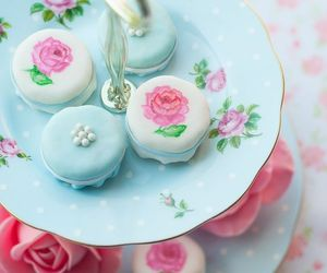 sweet, rose, and blue image
