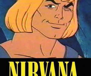he-man, meme, and nirvana image