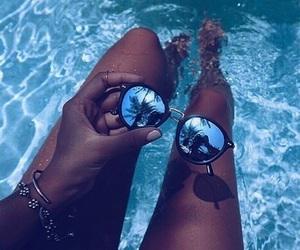 glasses, swim, and darkskin image