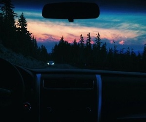 nature, sunset, and paradise image