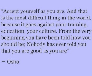osho, quotes, and yourself image