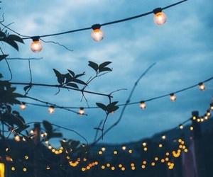 light, sky, and blue image