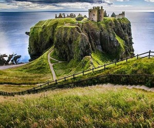 fantasy, green, and castle image