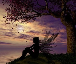 fairy, tree, and Dream image