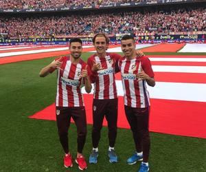 atletico madrid, atletico de madrid, and antoine griezmann image