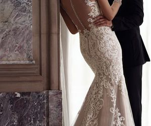 bridal, couple, and love image