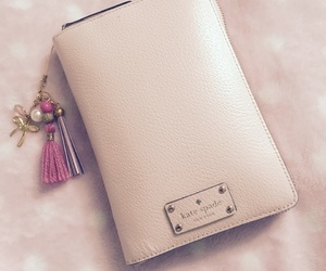 pink, cute, and kate spade planner image
