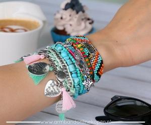 bracelet, ibiza, and armcandy image