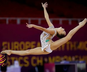rhytmic gymnastic and averina image
