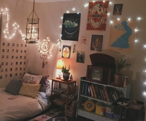 bon iver, indie room, and boho room image