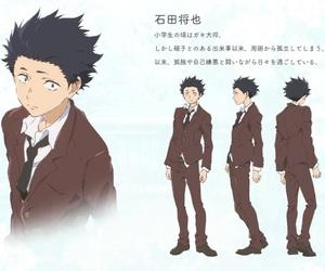 anime, movie, and koe no katachi image