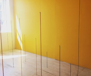installation and yellow image
