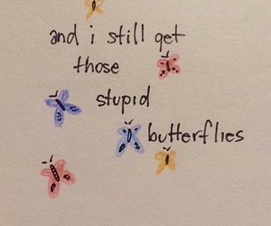 butterfly, quotes, and love image
