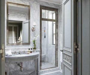 bathroom, country, and decoration image