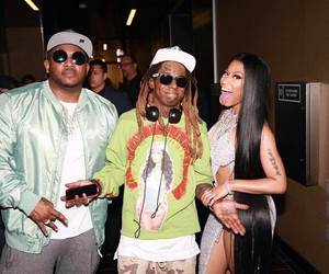 Drake, lil wayne, and nicki minaj image