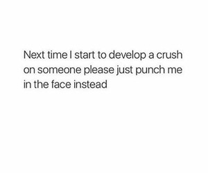 crush, funny, and girly quotes image