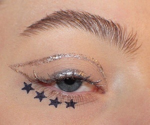 makeup, stars, and alternative image