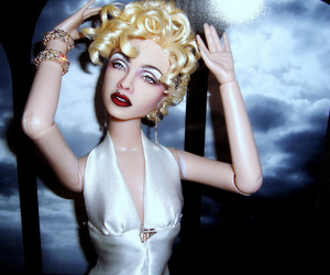 doll, Voguing, and madonna doll image