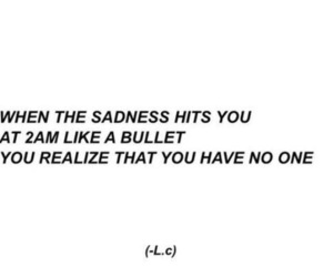 quote, sad, and friends image
