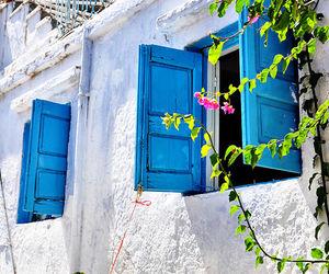Greece, sea, and holidays image