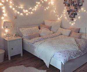 bedroom, ideas, and bed image