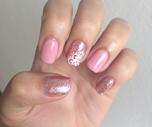 gel, glitter, and inspiration image