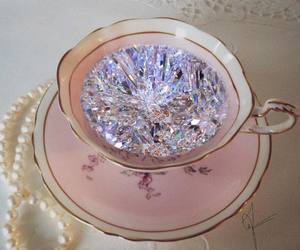 diamond, pink, and aesthetic image
