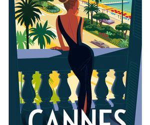 cannes, festival, and poster image