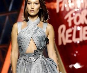 fashion for relief and bella hadid image