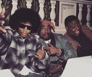 2pac, tupac, and Eazy E image