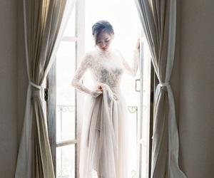 beauty, bridal, and elegant image