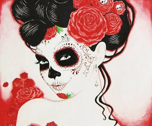 amazing, cool, and mexican skull image