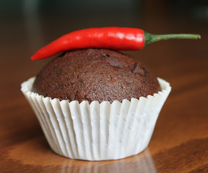 chocolate, delicious, and muffin image
