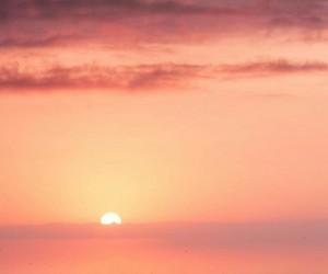 ocean and sunrise image