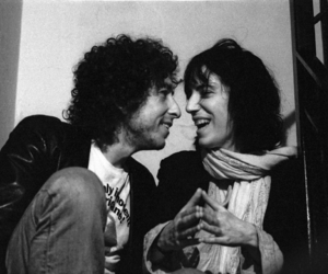 bob dylan and Patti Smith image