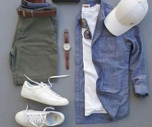 men, fashion, and outfit image