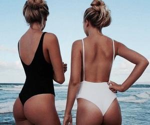 ass, bikini, and blonde image