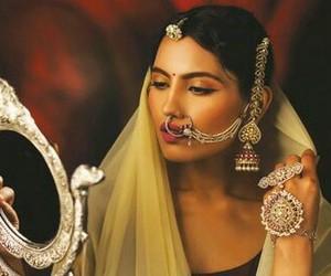 diamond, gold, and india image