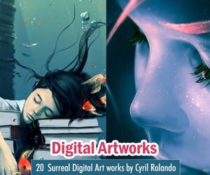 art, digital art work, and france artists image