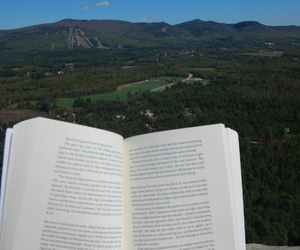book, explore, and read image