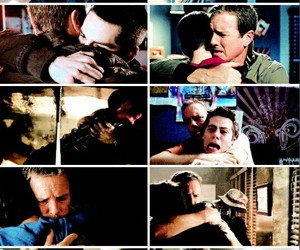 father, stiles, and teenwolf image
