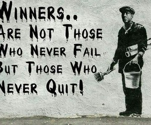quote, winner, and fail image