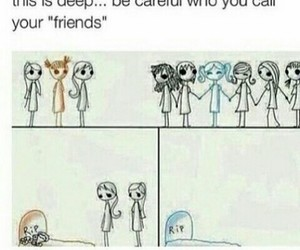 deep, friendship, and message image