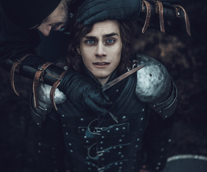 afraid, armor, and blue eyes image